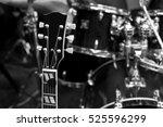 Grif Guitar Closeup In Black...