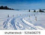 Winter Landscape In Bavaria ...