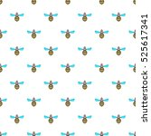 Wasp Pattern. Cartoon...