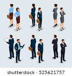 trendy isometrics  isometric... | Shutterstock .eps vector #525621757