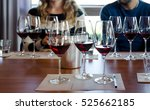 wine tasting experience in... | Shutterstock . vector #525662185