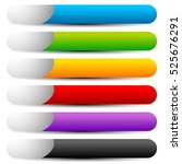 colorful button  banner shapes...