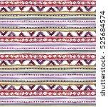 american tribal design.... | Shutterstock . vector #525684574