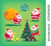collection of cartoon vector...   Shutterstock .eps vector #525690634