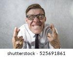 fingers crossed | Shutterstock . vector #525691861