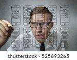 app development | Shutterstock . vector #525693265