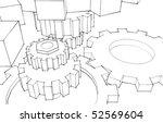 clockwork   Shutterstock . vector #52569604