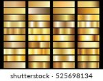 gold background texture vector... | Shutterstock .eps vector #525698134