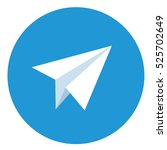 paper airplane icons | Shutterstock .eps vector #525702649