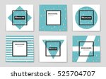 abstract vector layout... | Shutterstock .eps vector #525704707