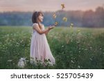 Fairytale Portrait Of Little...
