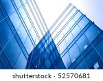 perspective view to blue... | Shutterstock . vector #52570681