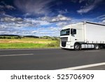 truck on the road | Shutterstock . vector #525706909