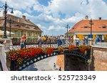 sibiu  romania   july 19  2014  ... | Shutterstock . vector #525723349