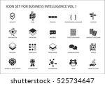 business intelligence  bi ...   Shutterstock .eps vector #525734647