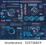 abstract future  concept vector ... | Shutterstock .eps vector #525736819