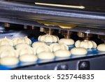 biscuit depositing machine ... | Shutterstock . vector #525744835