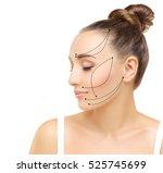 thread lift | Shutterstock . vector #525745699