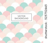 scale seamless colorful vector... | Shutterstock .eps vector #525752665