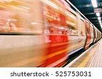 london tube  | Shutterstock . vector #525753031