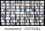 silver gradient background... | Shutterstock .eps vector #525753361