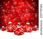 Beautiful Christmas Balls On...