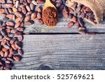 Cocoa Beans . Ingredient For...