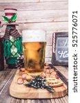 christmas beer  | Shutterstock . vector #525776071