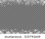 fairytale christmas background... | Shutterstock .eps vector #525792649