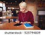 beautiful casual dressed... | Shutterstock . vector #525794839