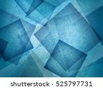 blue background with abstract... | Shutterstock . vector #525797731
