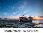 Fishing Boat Capsized At Sea ...