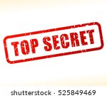 illustration of top secret