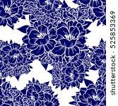 abstract elegance seamless... | Shutterstock .eps vector #525853369