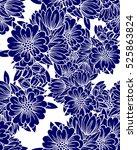 abstract elegance seamless... | Shutterstock .eps vector #525863824