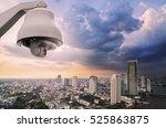 cctv monitoring  security...   Shutterstock . vector #525863875