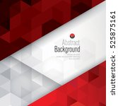 red and white background vector.... | Shutterstock .eps vector #525875161