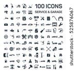 car service   garage 100... | Shutterstock .eps vector #525876067