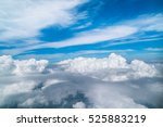 White Clouds And Blue Sky View...