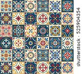 gorgeous seamless  pattern ... | Shutterstock . vector #525904354