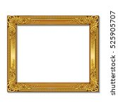 Frame Gold Color With Shadowon...