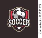 soccer logo  american logo...   Shutterstock .eps vector #525911779