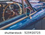 Vintage Classic Car With Mirro...