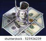 Rolled Hundred Us Dollar...