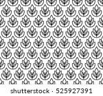 wheat ears seamless pattern....   Shutterstock .eps vector #525927391