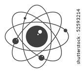atom  vector illustration   Shutterstock .eps vector #52593214