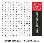 universal we icons design... | Shutterstock .eps vector #525953011