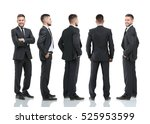 collection of full length... | Shutterstock . vector #525953599