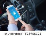 vote concept on screen | Shutterstock . vector #525966121