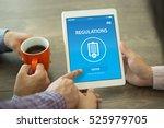 regulations concept on screen | Shutterstock . vector #525979705